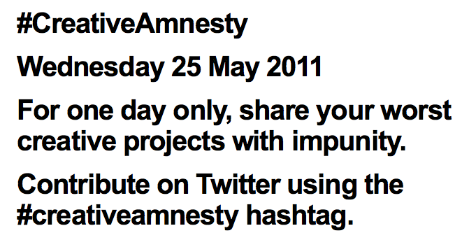 Creativeamnesty